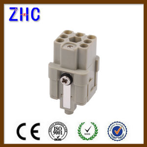 Hq Series 7 Pin Male and Female Crimp Terminal Electrical Heavy Duty Connector pictures & photos
