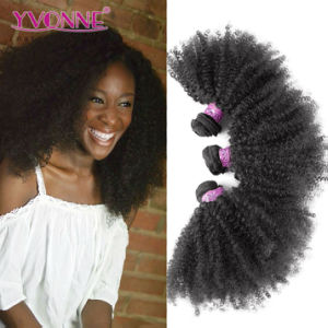 Afro Kinky Curly Brazilian Human Hair Extensions pictures & photos