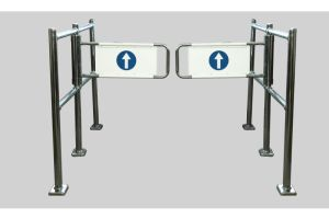 Supermarket Door, Safety Gate, Mechanical Swing Gate pictures & photos