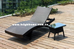 Outdoor Popular Beach Sun Lounger pictures & photos