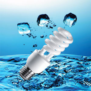 25W T4 E27 Half Spiral Energy Saving Bulb with Saso (BNFT2-HS-E) pictures & photos