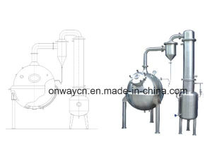 Qn High Efficient Factory Price Stainless Steel Milk Tomato Ketchup Vacuum Industrial Evaporator pictures & photos