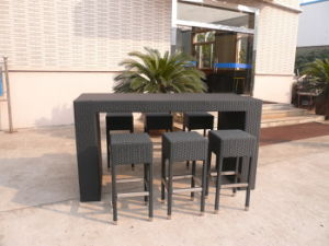 Outdoor Bar Stools/Rattan Bar Stools/Rattan Bar Chairs pictures & photos