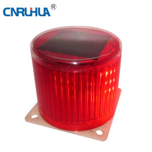 Solar Battery Operated LED Warning Light Ltd-6108 pictures & photos