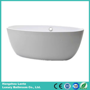 Wholesale Acrylic Fiber Glass Simple Bathtub (LT-25D) pictures & photos