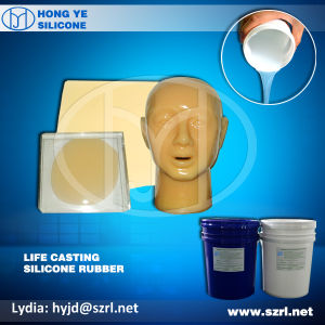 Soft Skin Color Life Casting Silicone Rubber for Suture Practise pictures & photos