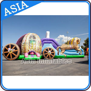 Inflatable Carriage Bouncer Slide for Kids Party pictures & photos