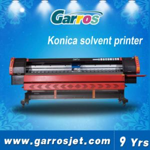 Garros 3.2m Wide Formt Konica Solvent Printing Machine pictures & photos