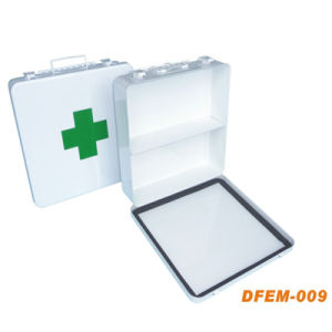 Reusable Medical Empty First Aid Kit Box for Emergency (Metal Box) pictures & photos