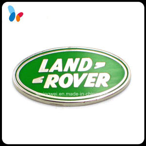 Custom Enamel Car Logo Oval Metal Badge for Gift pictures & photos