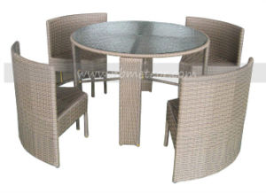 Mtc-026 Modern Leisure Rattan Dining Set for Outdoor/Garden pictures & photos