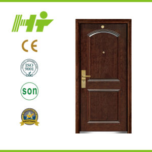 Single Steel Wood Armored Door (HT-A-18)