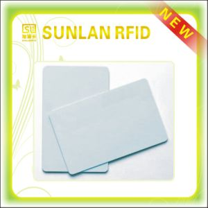 Glossy White PVC Blank Card with Wholesale Price pictures & photos