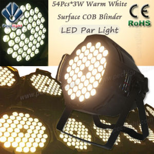 Surface 54PCS*3W Warm White LED PAR Can Stage Light pictures & photos