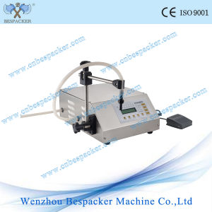 Digital Control Manual Bottle Water Liquid Filling Machine pictures & photos