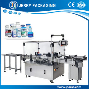 Vertical Automatic Medicine Small Round Bottle Sticker Label Labeling Machine pictures & photos