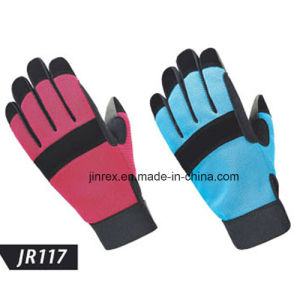 Mechanics Working Tool Construction Safe Hand Protect Glove pictures & photos