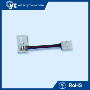 4pin Cable Connector for 5050 RGB LED Strips pictures & photos