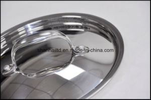 5ply Copper Core Body Fry Pan pictures & photos