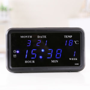 [Ganxin] Hot Sale! Switch Control LED Calendar Digital Clock for Promotion Gift pictures & photos