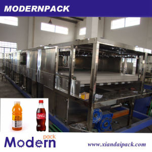 Automatic Glass Bottle/ Can Continuous Spraying Sterilizer Packing Machine pictures & photos