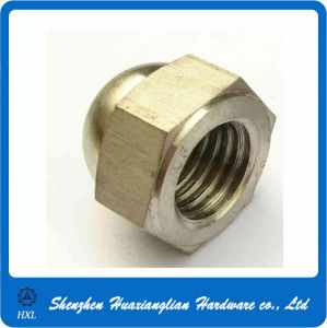 M3 M4 M5 M6 Brass Hex Dome Cap Nuts pictures & photos