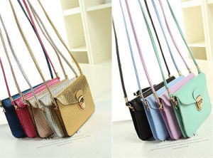 Cheapest Price Korean Series Fashion Design Mini Lady Handbag pictures & photos
