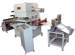 Roll to Sheet Cotton Fabric Cutting Machine pictures & photos