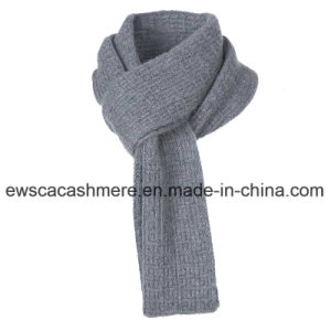 Men′s Solid Color Pure Cashmere Muffler Scarf pictures & photos