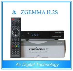 with Original Software Support Zgemma H. 2s with Two DVB-S2 Tuner pictures & photos