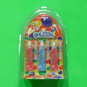 2015 Hot Sale Plastic Balloon Glue for Kids, Plastic Blow Bubbles Toy for Kids 2015 New