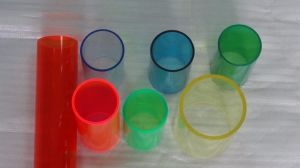 Very Thick Transparent Acrylic Tube, PMMA Tube pictures & photos