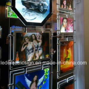 Wall Mounted Shop Display Crystal Light Box pictures & photos