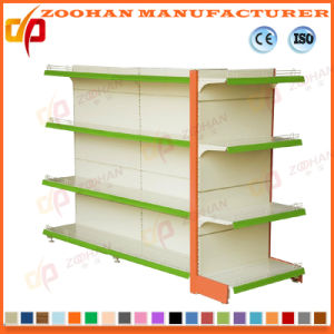 Double Side Gondola Punch Back Board Supermarket Shelf (ZHs641) pictures & photos