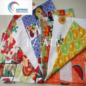 Printed Minimatt Fabric 300dx300d pictures & photos