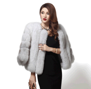 Best Selling Fox Fur Coat /Real Fur Coat pictures & photos