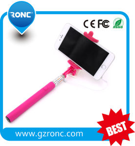 Wholesale Bulk Good Price Wired Selfie Stick pictures & photos