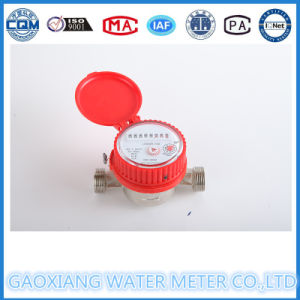 Small Single Jet Hot Water Meter with Red Color Dn15-Dn25 pictures & photos