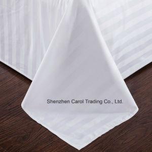 100% Cotton 500tc 3cm Stripe Hotel Textile Hotel Bedding Set pictures & photos