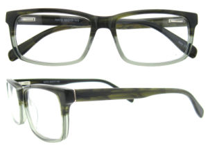 High Quality Rectangle Acetate Optical Frames for Men Eyewear pictures & photos
