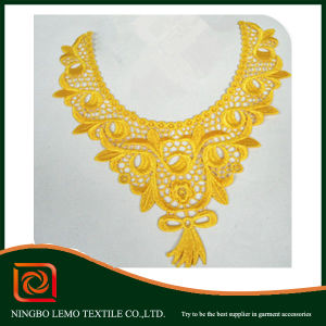 Charming Embroidered Lace Collar for Garment pictures & photos