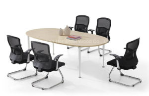 Small Modern Oval Boardroom Meeting Tables (HF-DO009) pictures & photos