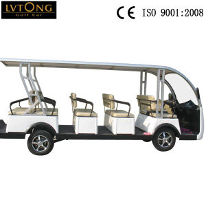 14 Person Electric Car Mini Bus pictures & photos