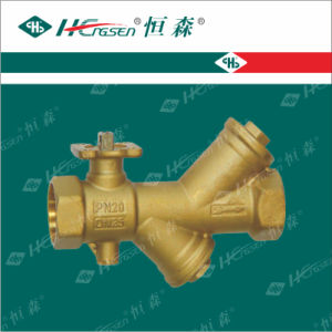 Dynamic Balance Filter Motorized Ball Valve with Actuator/ Filter Valve pictures & photos