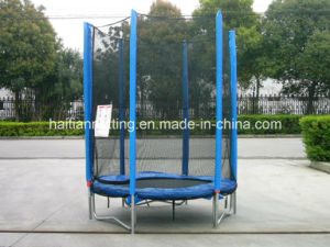 50′′ Mini Trampoline with Enclosure (TUV/GS, CE, LGA) (HT-TPM50) pictures & photos