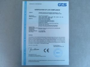 Ce Certificate Sc to Sc Multi-Mode Om3 Optical Fiber Jumper pictures & photos