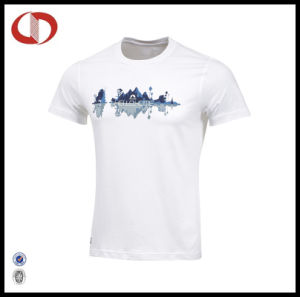 Custom High Quality Printing Mens T Shirts with Round Neck pictures & photos