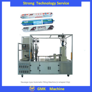 Adhesive Automatic Rbz-40 Sausage Capping Machine pictures & photos