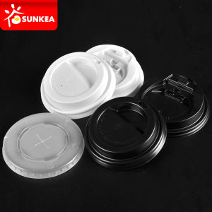 Plastic Coffee Cup Lid, Disposable 70mm Lids pictures & photos