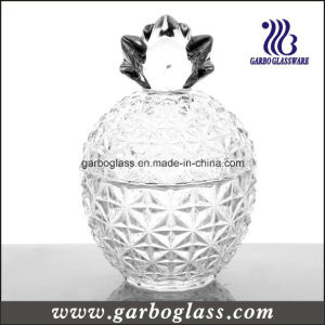 Crystal Pineapple Shape Glass Jar with Cover pictures & photos